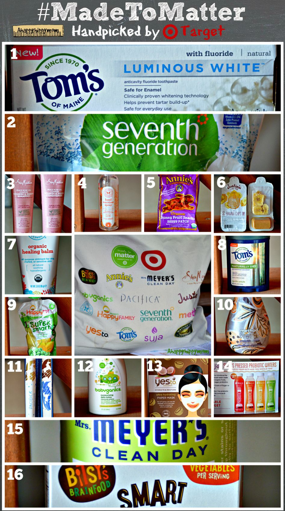Collection of products handpicked from Target's Made to