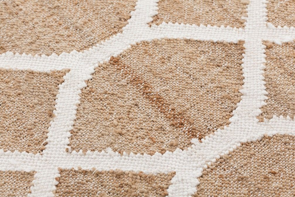 Rodas Rug White, 150x200 cm Rugs, Contemporary rugs