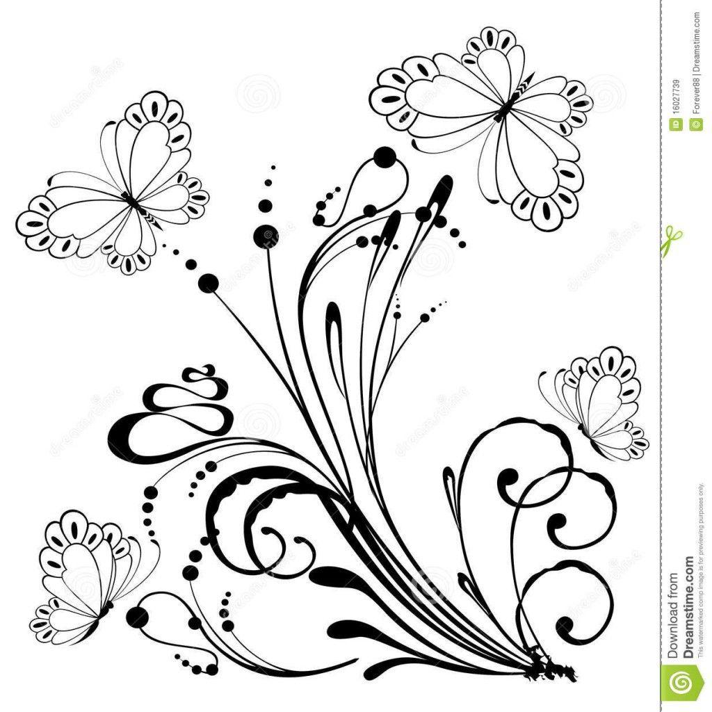 Dibujos Flores Sencillas Beautiful Cmo Dibujar Una Flor Con Ramas Y