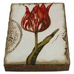 """Sid Dickens - Scarlet """"Proud flower precious as gold to sultans of first flame of spring"""""""