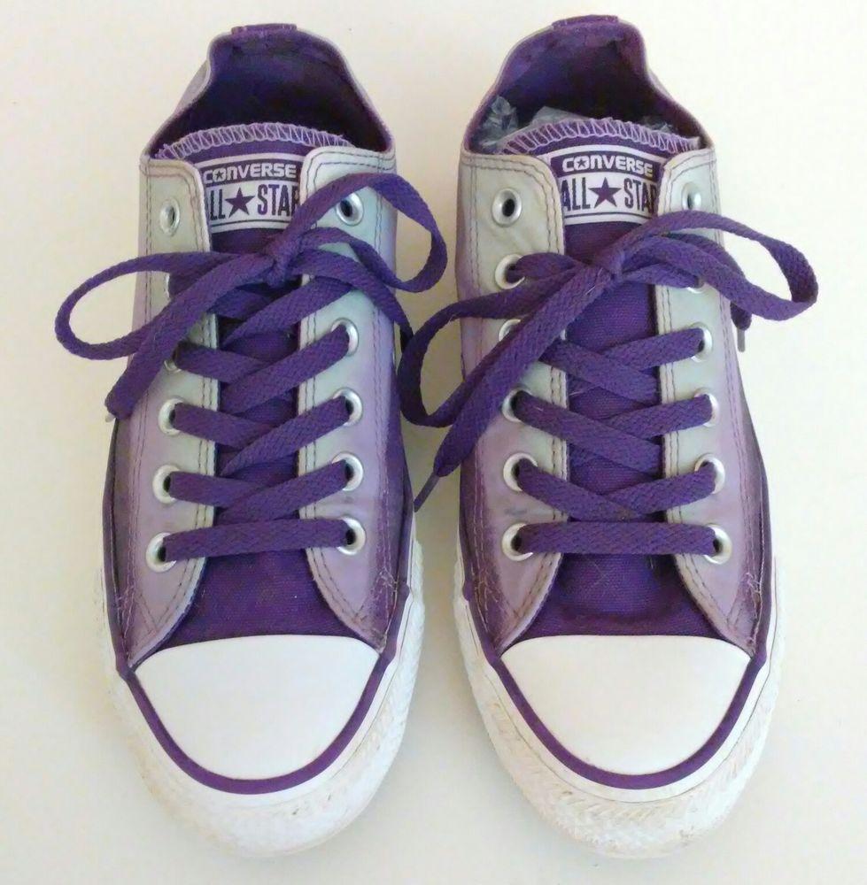 spain purple converse womens size 8 476b8 e0254