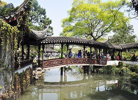 Suzhou Travel Guide Tour, Map, History I love Suzhou Pinterest - chinesischer garten brucke