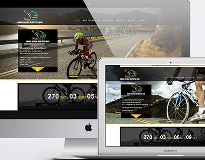 """Check out new work on my @Behance portfolio: """"Annual Mayoral Cycle Race Polokwane Website"""" http://on.be.net/1qKLcik"""