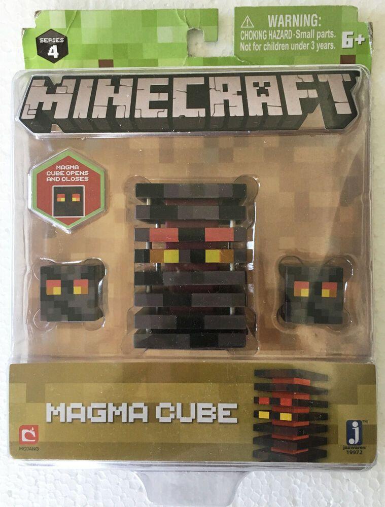 MINECRAFT SERIES 4 FIGURE MAGMA CUBE