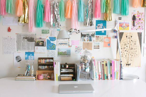 Creative Desk And Craft Storage
