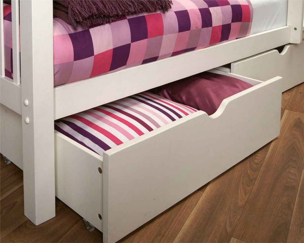 Best Limelight Pavo Pair Of Under Bed Drawers White Under 400 x 300