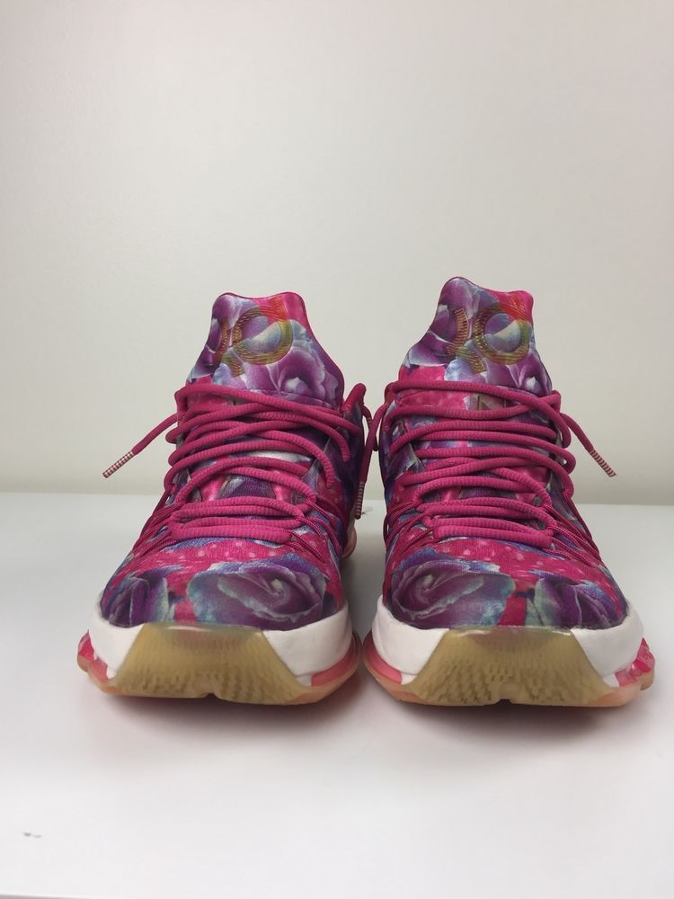 newest bbe62 33212 NIKE KD 8 Mens Size 11 Aunt Pearl Kevin Durant Kay Yow Cancer Fund Pink   fashion  clothing  shoes  accessories  mensshoes  athleticshoes (ebay link)