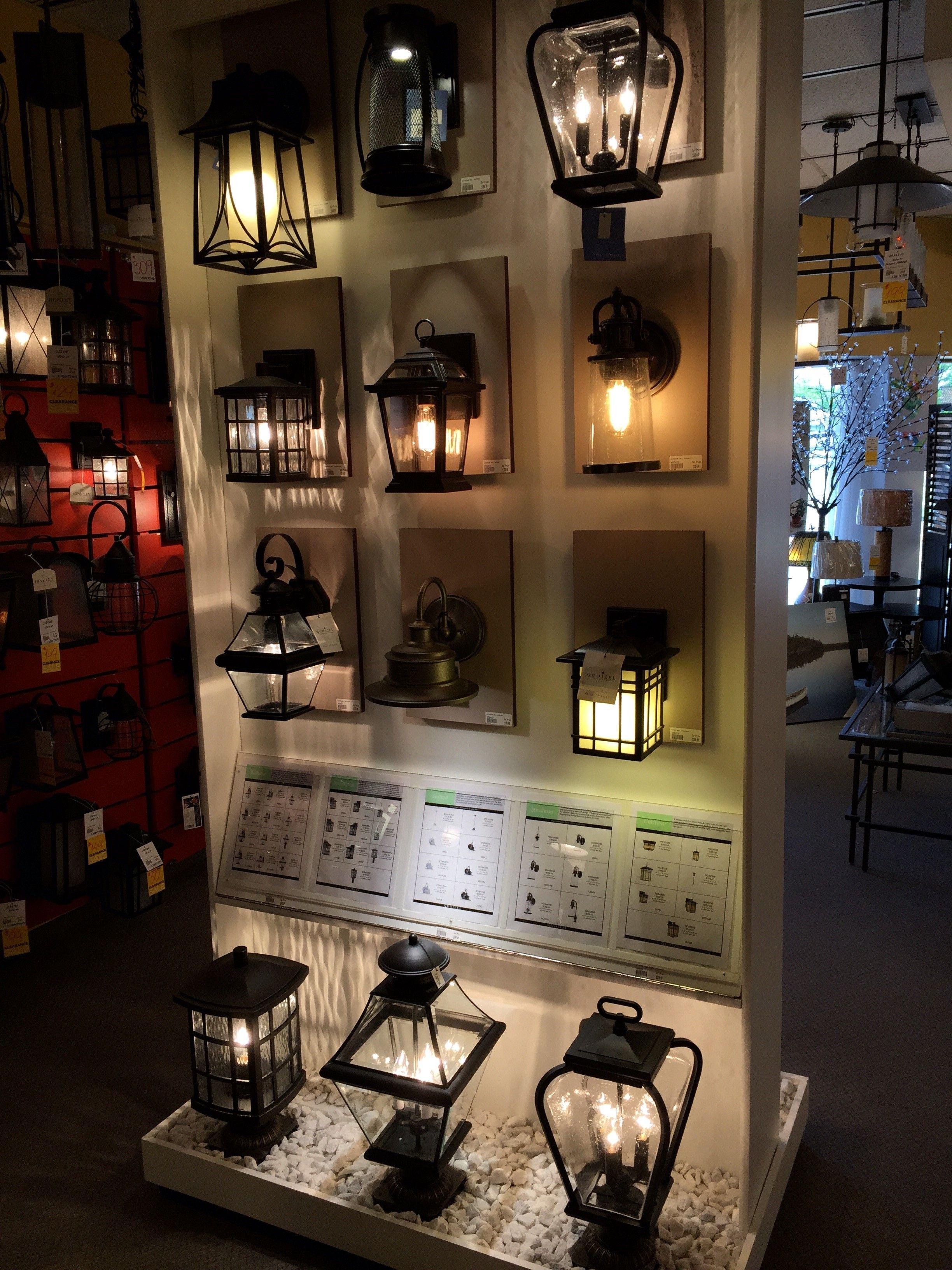 Living Lighting Newmarket Livinglighting Showroom Canada Exterior Outdoorlighting