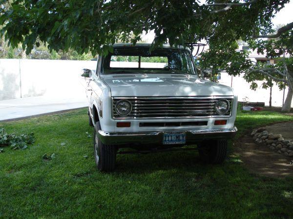1974 Ih 4x4 Pickup Tahoe San Francisco Bay Area International Harvester