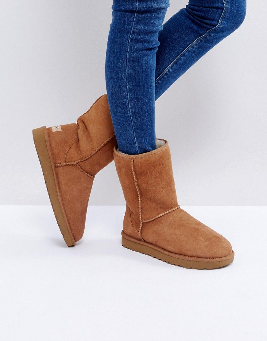 49e94ebbbc0 UGG Classic Short II Chestnut Boots - Tan