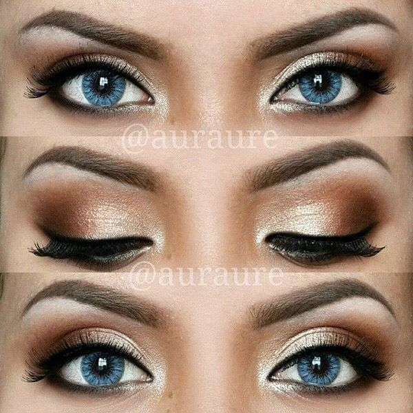 Looking For Inspiration Prom Makeup Here Are 12 Pretty And Easy Tutorials Ideas Blue Eyes Can Be Worn Any Occasion