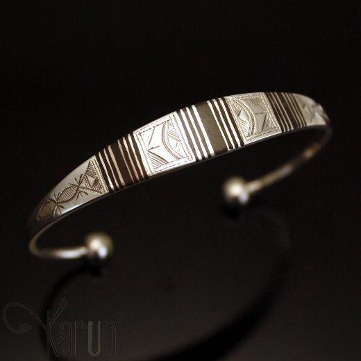 bracelet argent ethnique femme