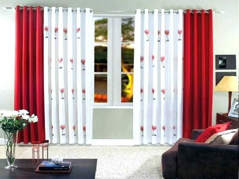15 Best Red Curtain Designs With Pictures In 2021 Red Curtains Living Room Living Room Red Curtains Living