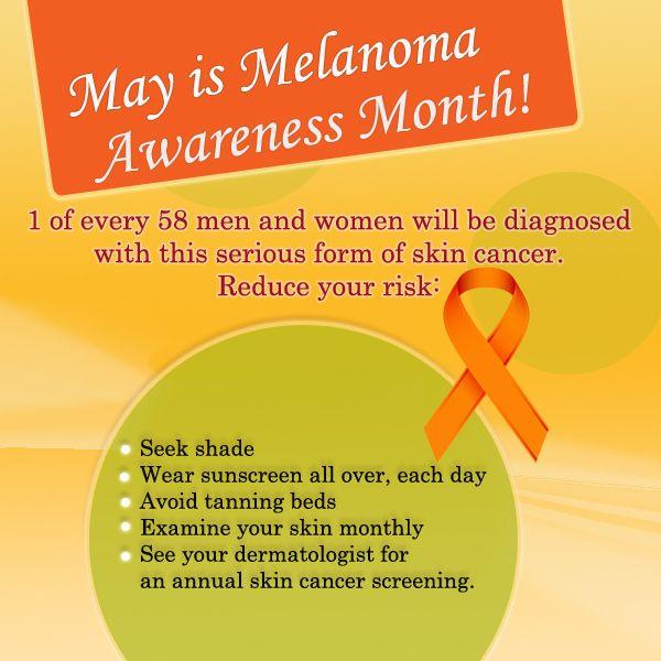 May is Melanoma Awareness Month