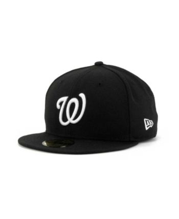 online retailer bd351 b27ea New Era Washington Nationals Mlb B-Dub 59FIFTY Cap - Black 7 5 8