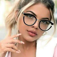 Photo of Fashion Women Round Frame Glasses Metal Frame Eyeglasses Clear Lens Eyewear  | eBay