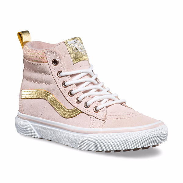 7d9768afc9 VANS SK8-HI SEPIA PINK GOLD Vans Shoes Kids
