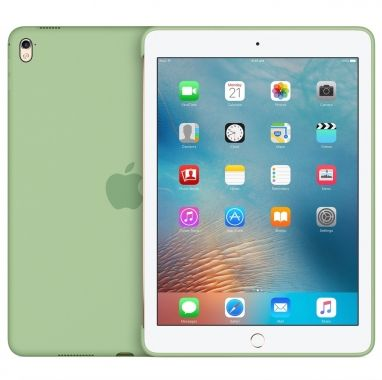 Apple iPad Pro 9,7-inch Silicone Case muntgroen  SHOP ONLINE: http://www.purelifestyle.be/shop/view/technology/ipad-mini-beschermhoezen/apple-ipad-pro-97-inch-silicone-case-munt