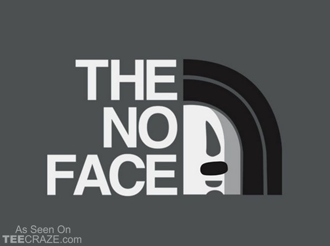 The No Face T-Shirt Designed by drawsgood    Source: http://teecraze.com/the-no-face-t-shirt/