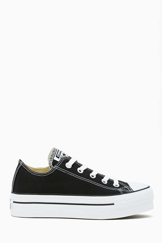 c833b55c357 Converse All Star Platform Sneaker - Black