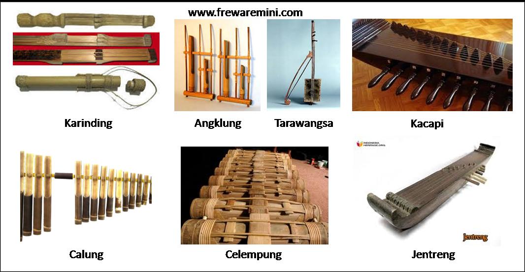 Alat Musik Tradisional Jawa Barat Musik Tradisional Musik Alat