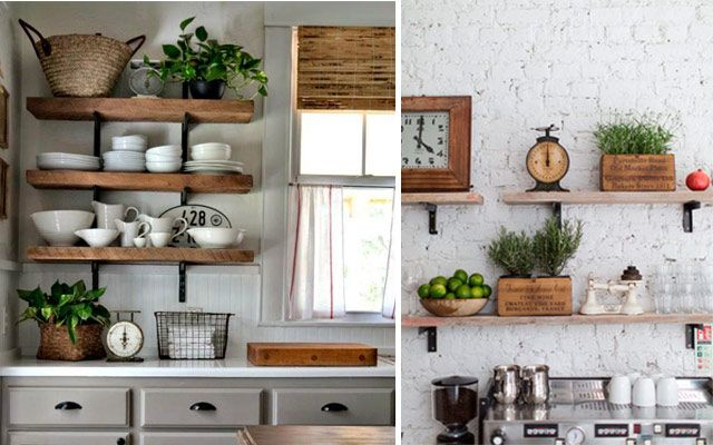 Ideas originales para decorar la cocina con plantas for Muebles originales