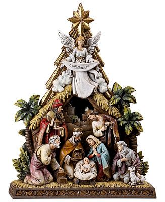 Napco Angel Nativity Scene - Holiday Lane - For The Home - Macy's Bridal and Wedding Registry