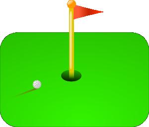 Golf Flag Ball Clip Art Clip Art Free Clip Art Art