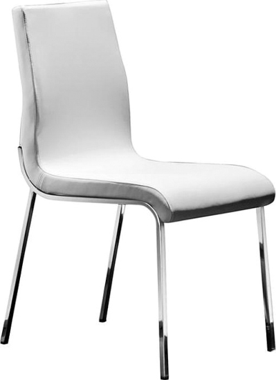 Brockton Side Chair Chair In White Dining Chairs By Wade Logan