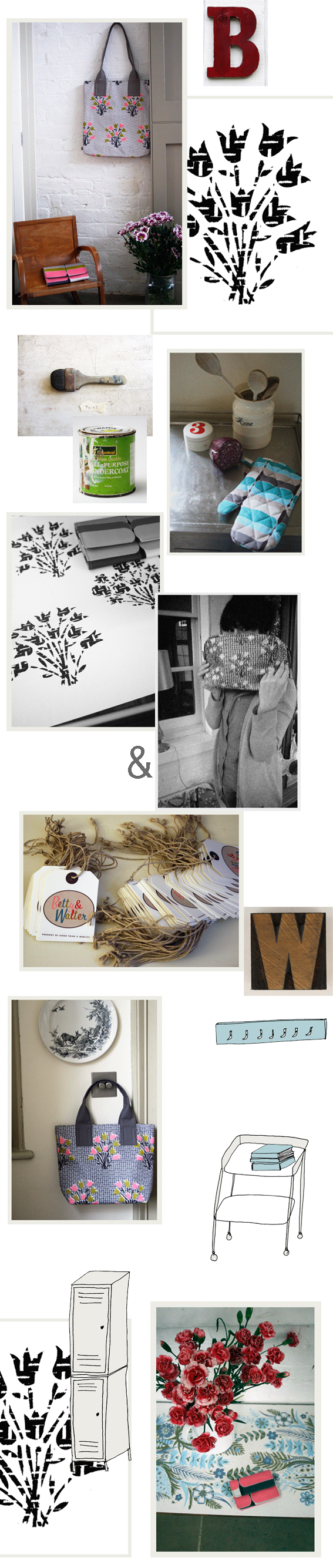 Betty & Walter, a new brand by Lisa Levis (nee Stickley) do Top Drawer, London to launch the new Spring collection.
