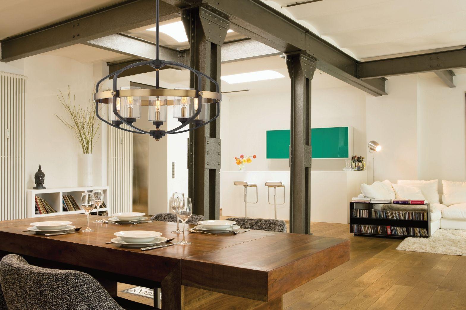 Savoy House Kirkland 5 Light Pendant Industrial Interior Design Residential Design Home Remodeling
