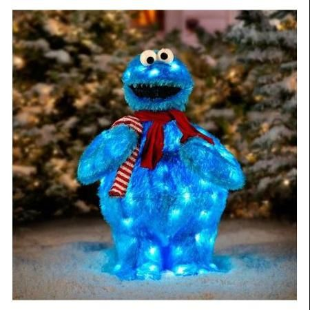 Cookie Monster To Lit