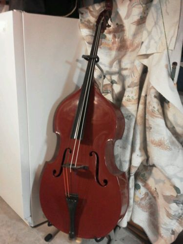 details about vintage roth finch 4 4 fiberglass upright bass good condition guitars and stuff. Black Bedroom Furniture Sets. Home Design Ideas