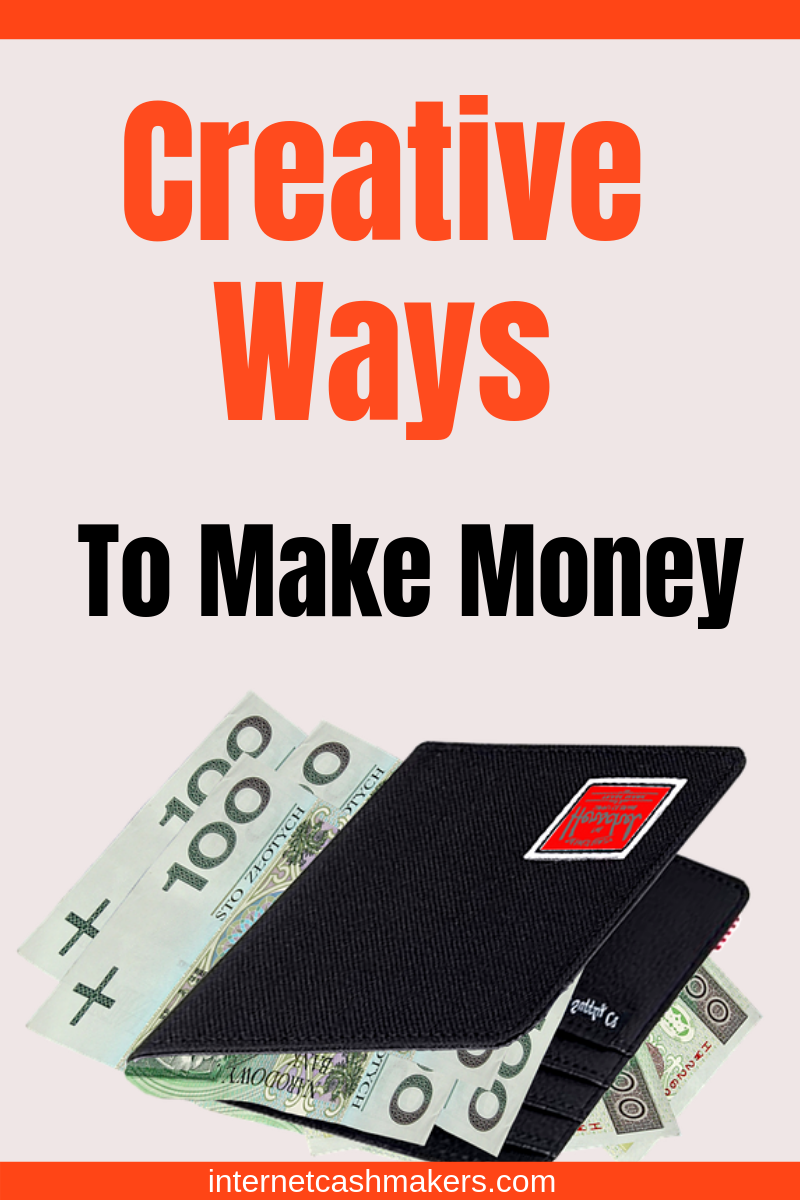 how to make money from home creative