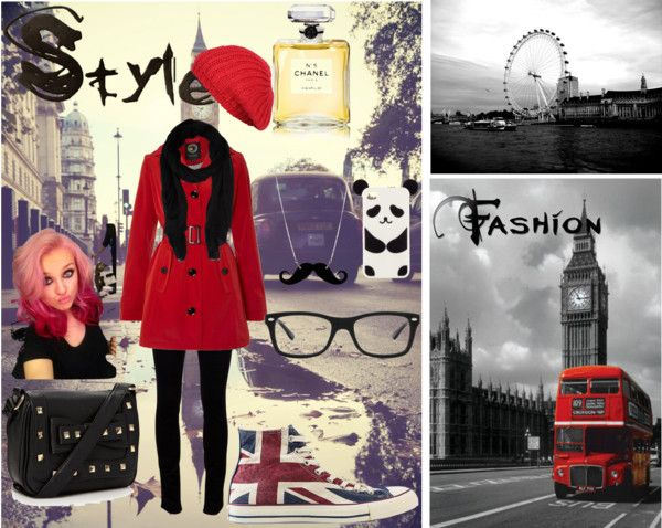 """Londres *-*"" by katalina77 ❤ liked on Polyvore"