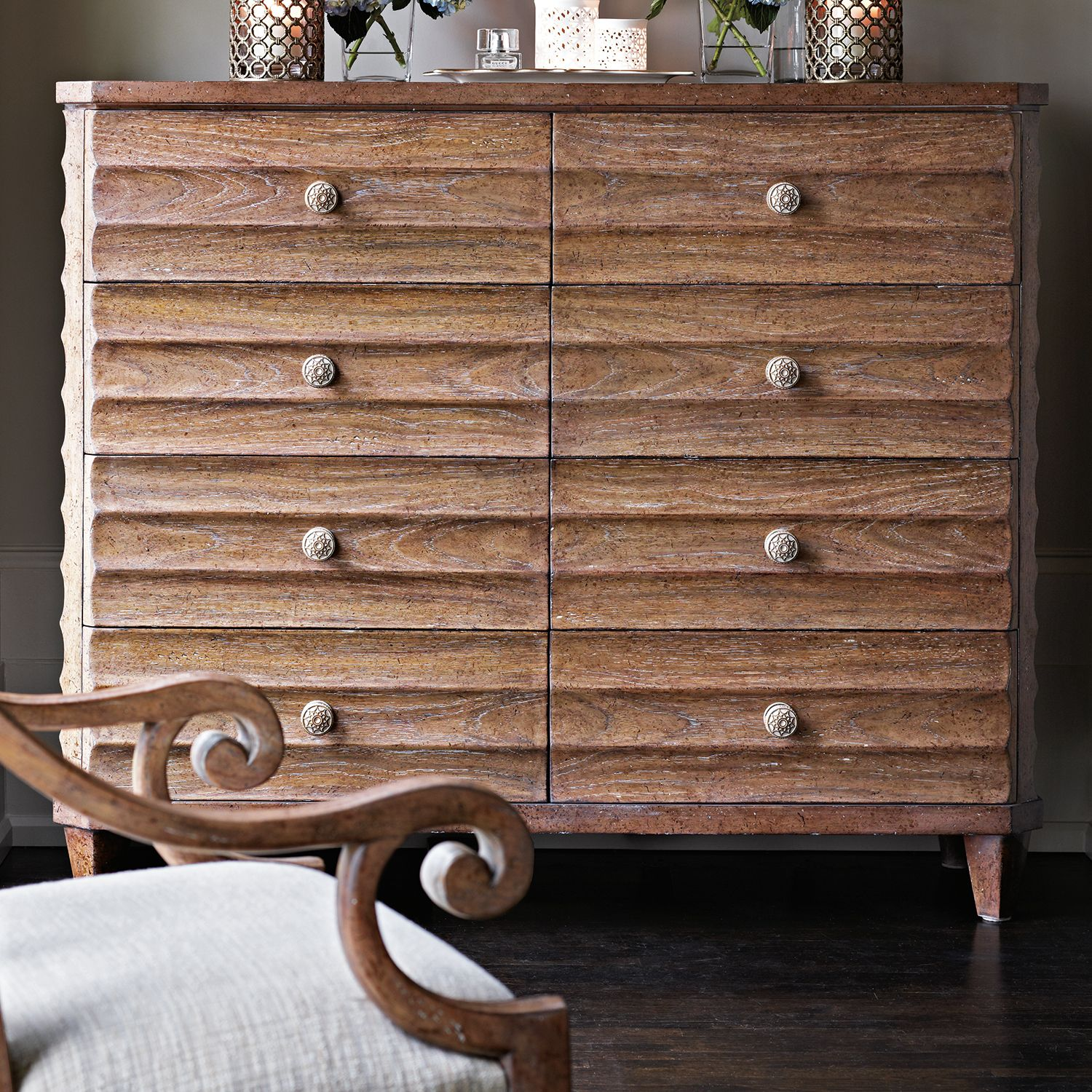 Dressing chest stanley furniture manufacturer archipelago collection dressing chest 56 25w x 19 5d x 47 25h shoal finish