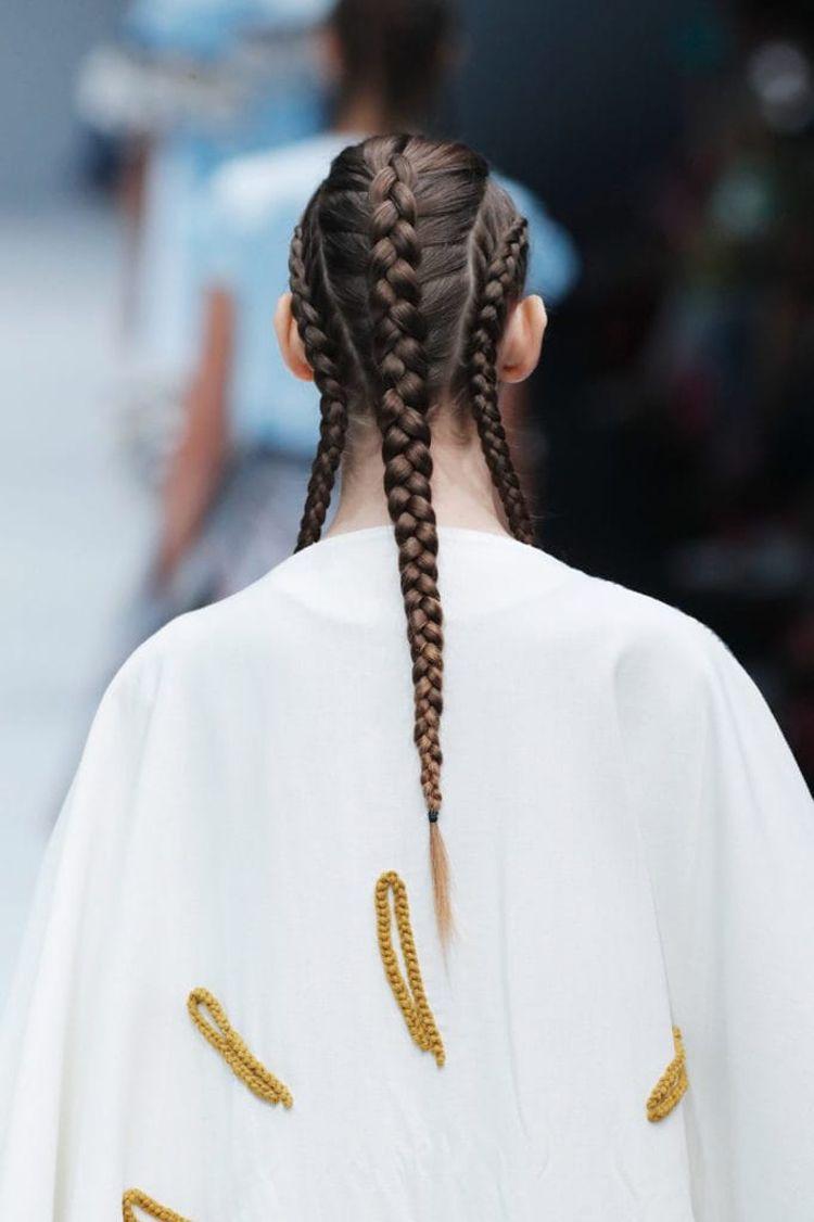 Einhorn Frisur