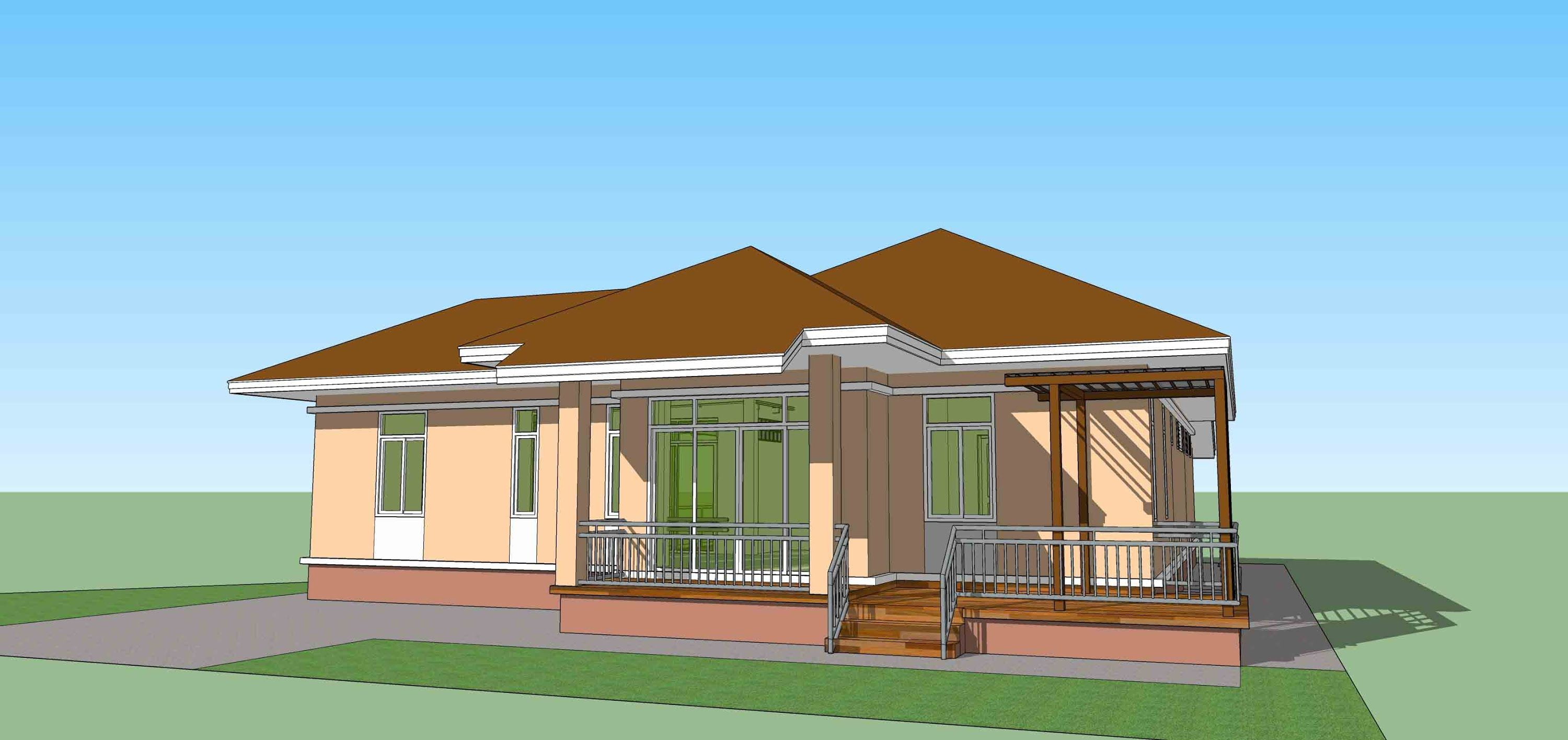 Sketchup pro 2015 how to create house model in 1.30 hour ...