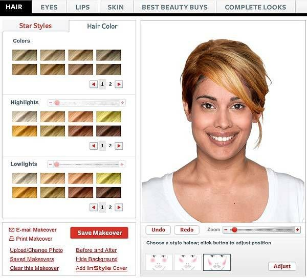 Hairstyle Changer Virtual Makeover Hairstyle Makeover Makeover Headtotoe Makeover
