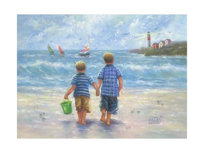 Beaches Wall Art And Home Decor At Art Com Boy Art Beach Wall