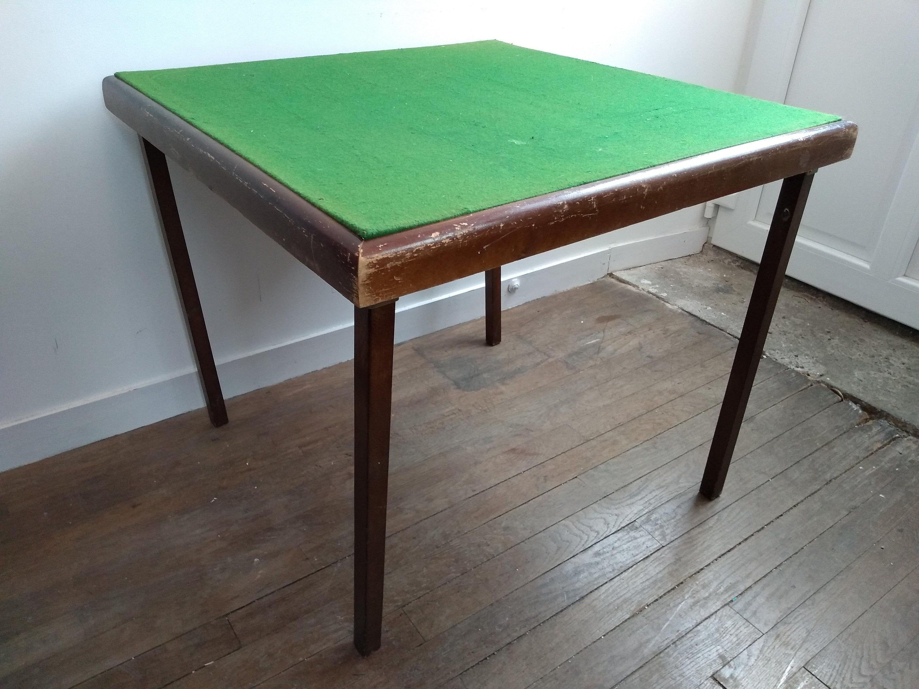 Vintage English Low Green Felt Topped Folding Wooden Foldable Folding Gaming Games Card Table Circa 1960 70 S In 2020 Living Room Coffee Table Home Coffee Tables Table