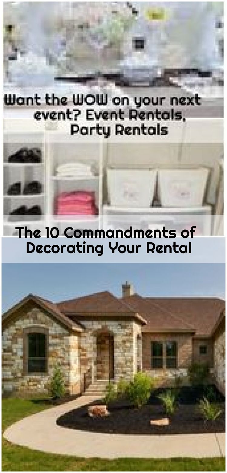 The 10 Commandments of Decorating Your Rental , The 10 Commandments of Decorating Your Rental | Apartment Therapy... ,  #Commandments #Decorating #Rental