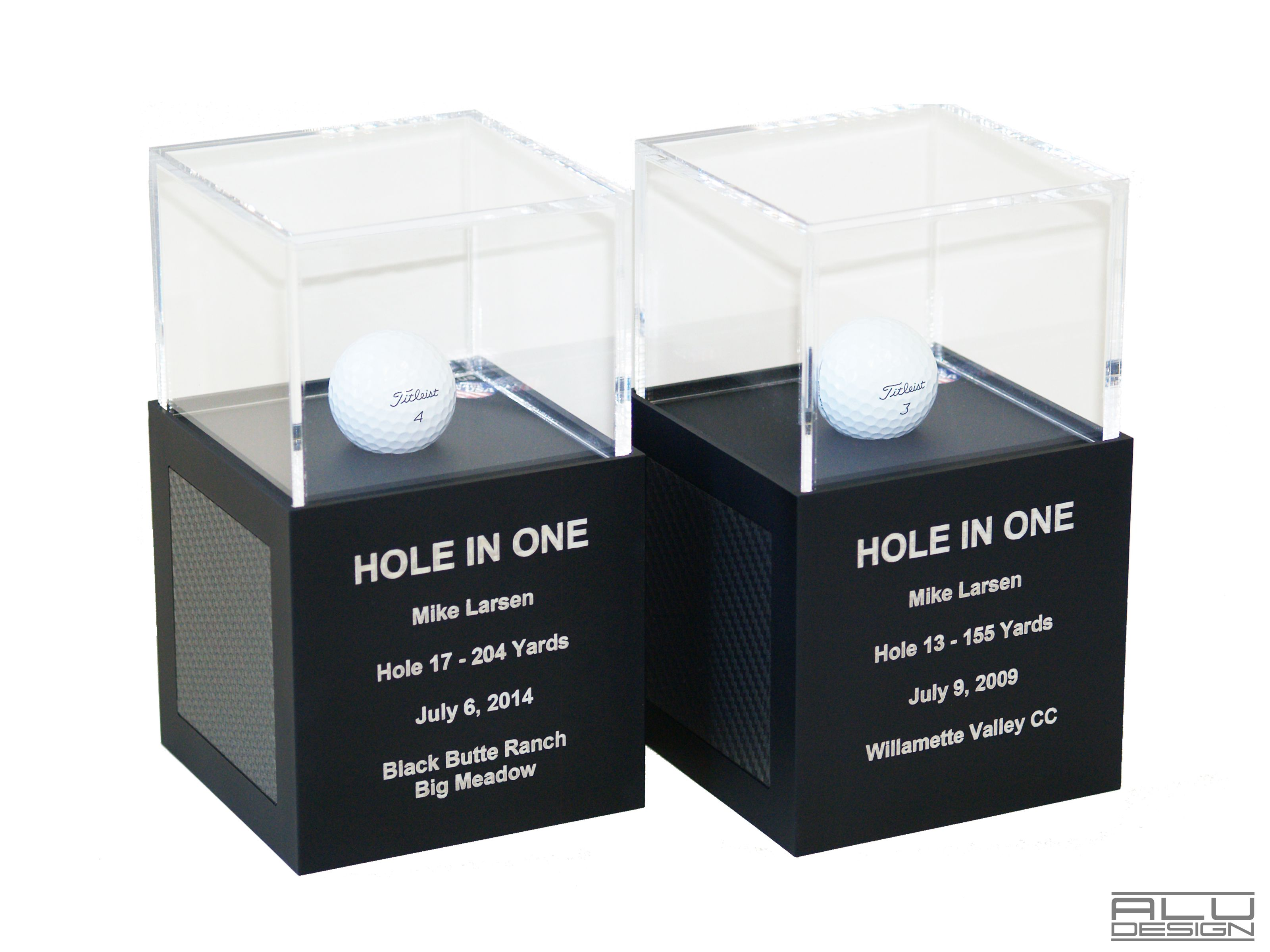 Eagle Double Eagle Albatross Cube Case Ball Display Cube Ultra