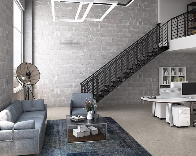 Best On A Scale Of 1 10 How Awesome Is This Office Stair We 400 x 300