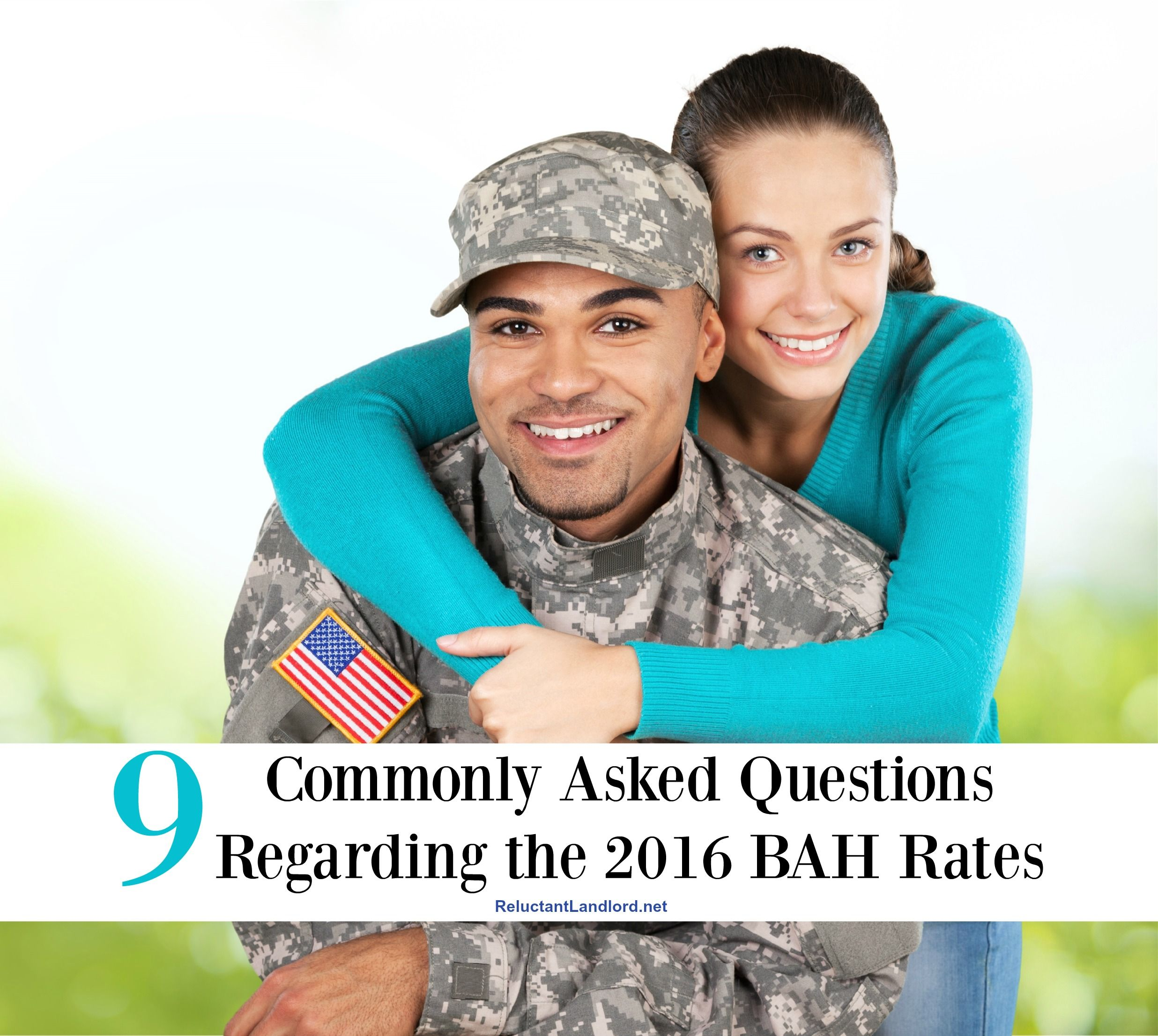 9 Commonly Asked Questions Regarding the 2016 BAH Rates