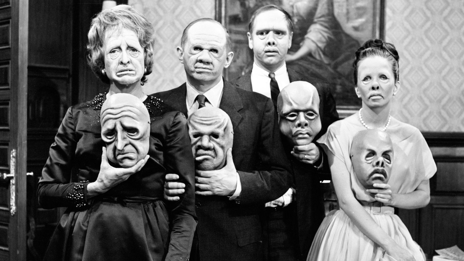 "The Twilight Zone episode ""The Masks"" airs 1964 
