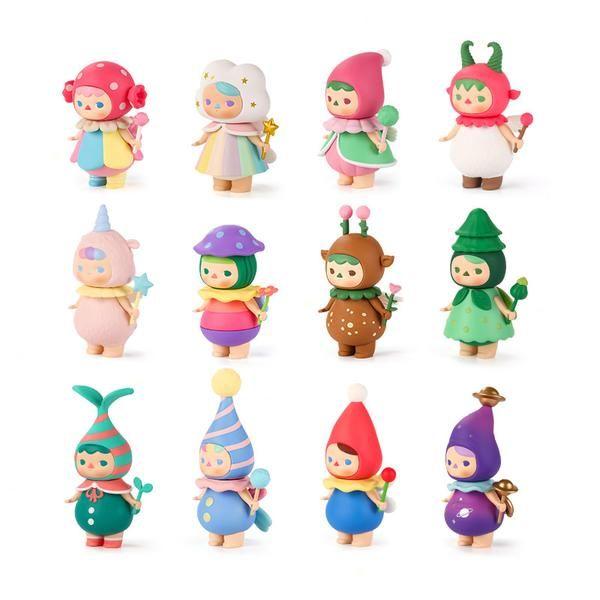 1 pièce Art Toys Pucky Forest Fairies Pop Mart
