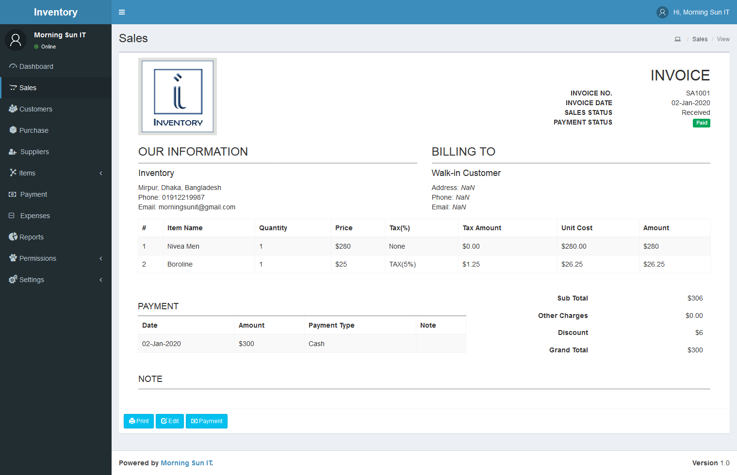 Qbill Inventory Management System In 2020 Expense Management Inventory Management Management