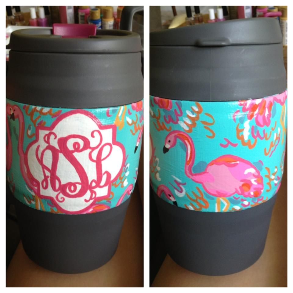 Lilly and Monogram Bubba Keg