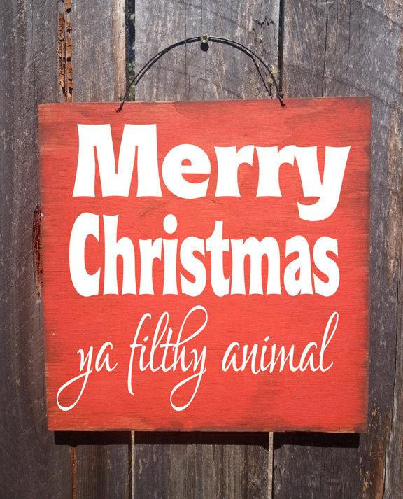 Christmas Decor, Christmas Decoration, Home Alone Sign, Home Alone Quote, Merry  Christmas
